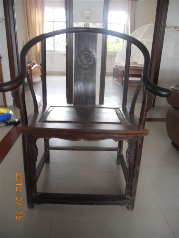 千年水浸木古装椅