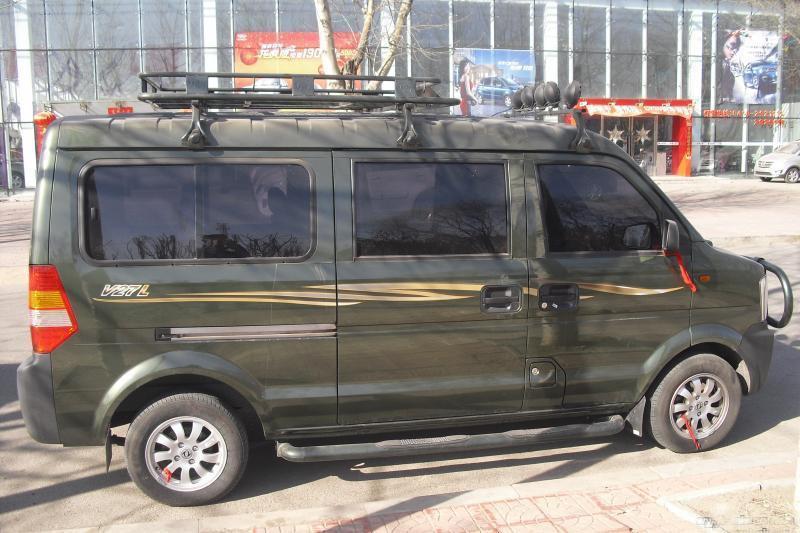 出售7个月东风V27L越野车 加长款 7座