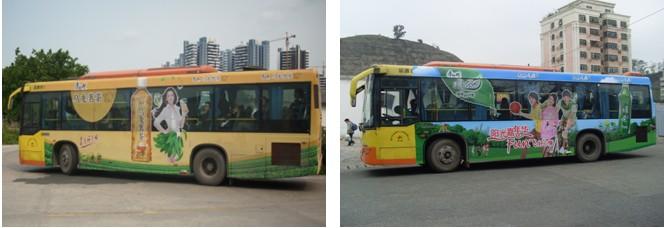 惠州公共汽车公交车巴士车体广告专业媒体公司