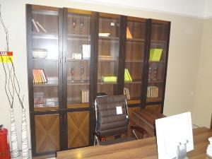 皇朝家私电脑桌+书架