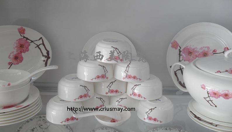 上海酒店陶瓷餐具 飯店陶瓷餐具