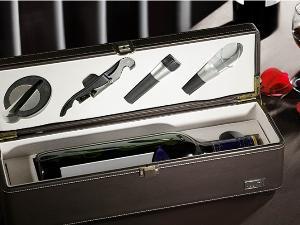 单瓶装小酒盒(升级版・皮盒4件套)
