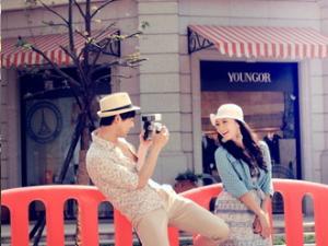 爱的春天婚纱摄影