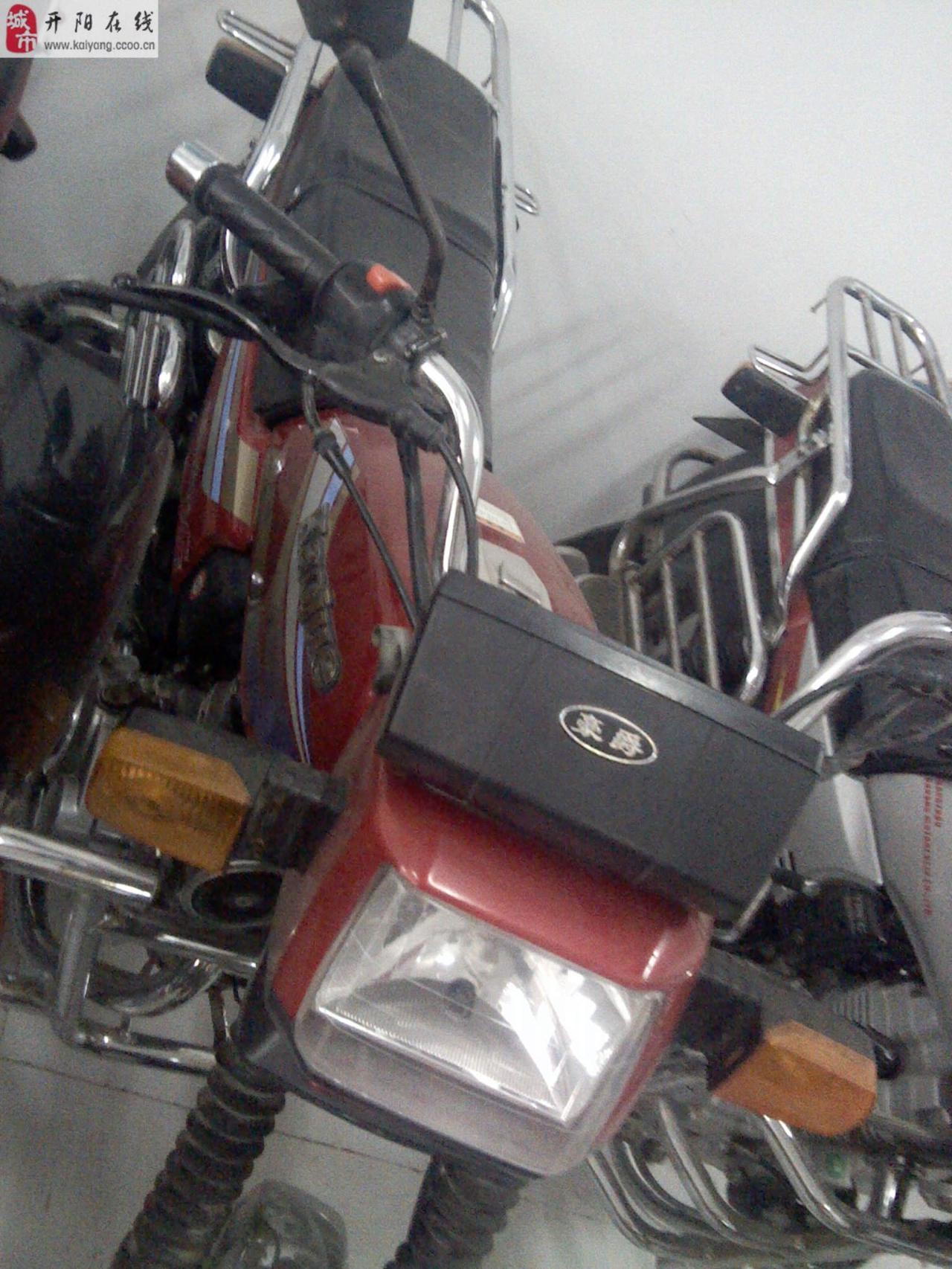 出售豪爵摩托车一辆