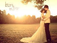 醉,夕阳――微微新娘婚纱摄影
