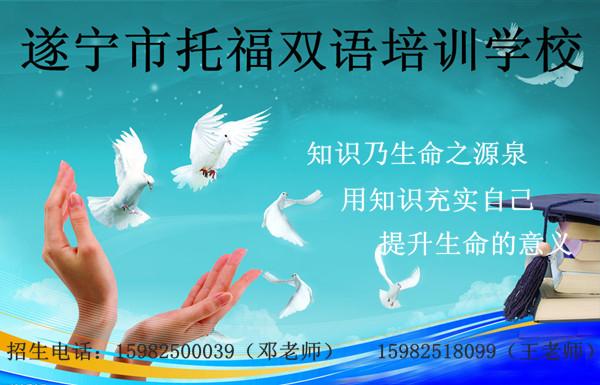 遂宁市托福双语培训学校-欢迎来电咨询报名!
