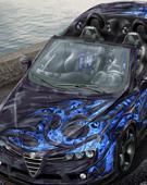 赛车CG渲染作品欣赏