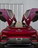 前卫动感的福特Evos概念车