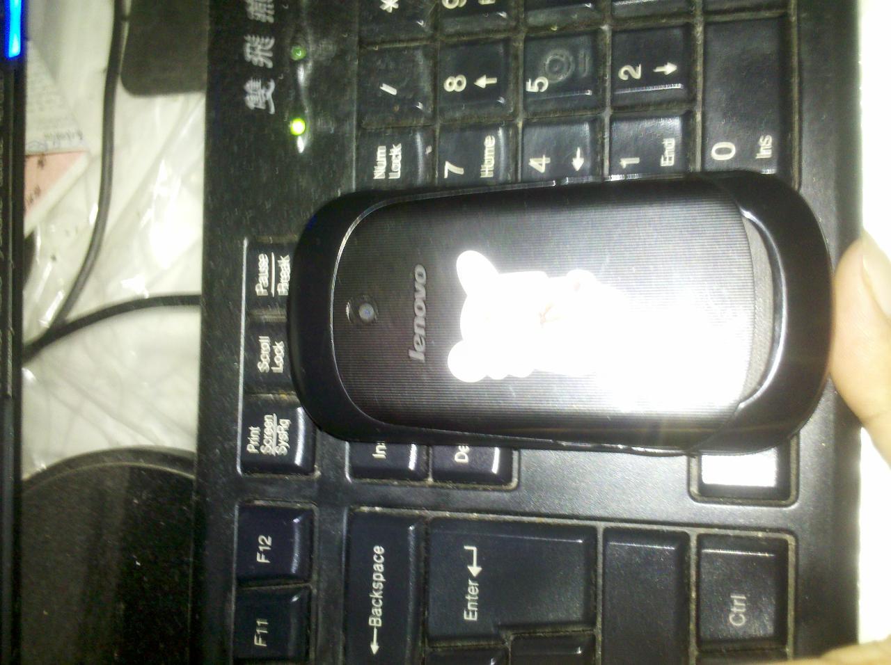 联想乐PHONEA19.5成新出售