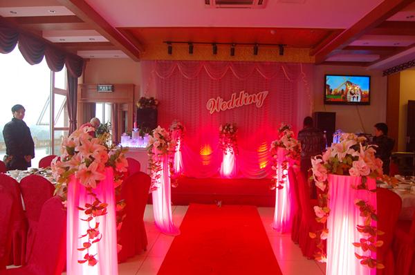 遂宁红玫瑰婚庆――婚礼场景布置