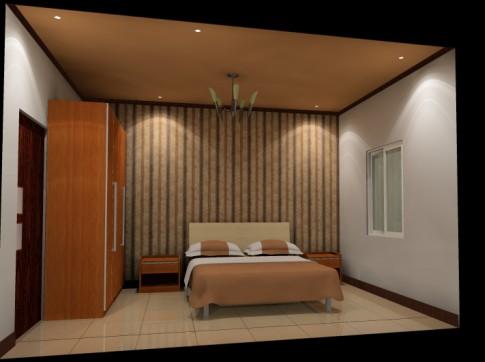 环保无漆的卧室家具
