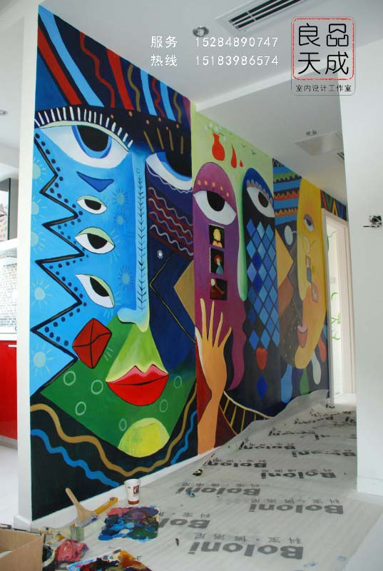 良品天成·手绘墙,墙绘【量身定做】