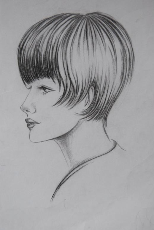 男头像素描设计图__绘画书法图片