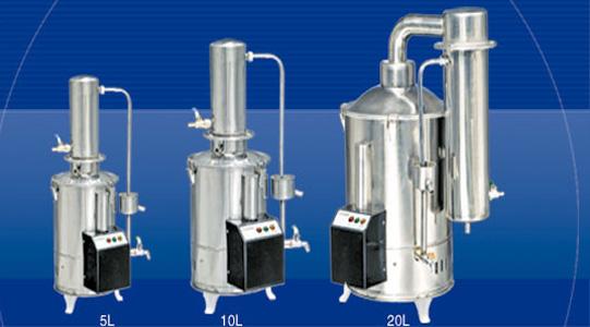 不锈钢塔式电热蒸馏水器