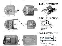 工具箱锁,汽车盒锁,不锈钢T型锁,机罩锁