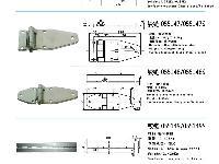 发电机组铰链,发电机组合页,特种车配件