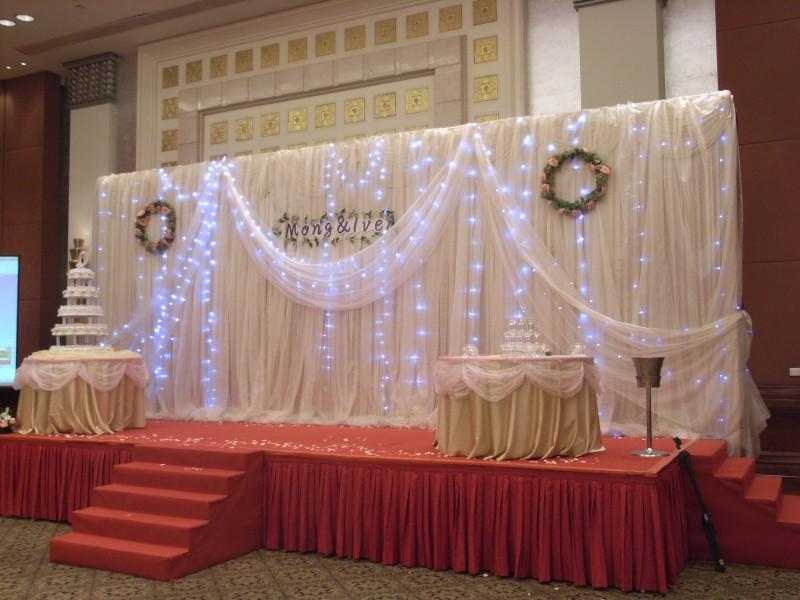 婚礼会场布置图片_婚礼现场布置效果图
