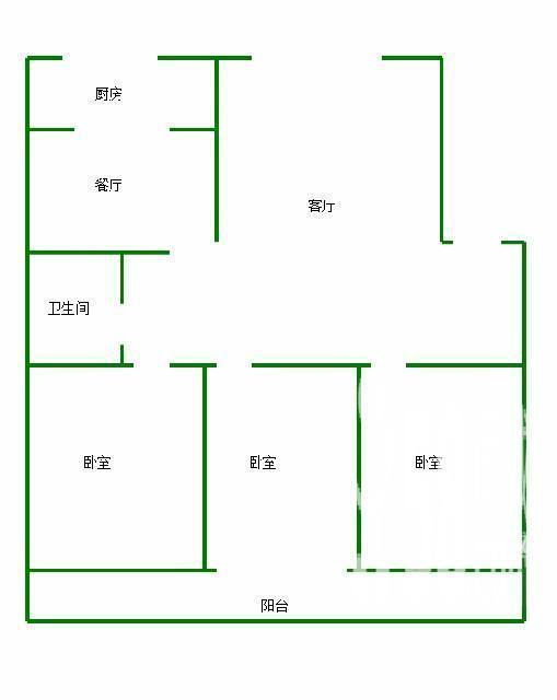套房建筑设计图三室分享展示
