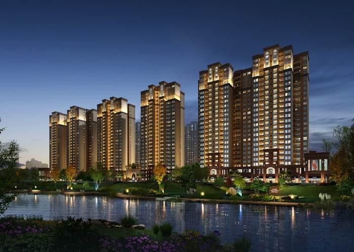 广信鹭岛楼盘规划图|户型图|实景图|样板间-广汉城市