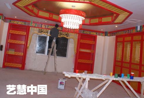 艺慧中国专业承接学校幼儿园企业文化墙酒店壁画家庭手