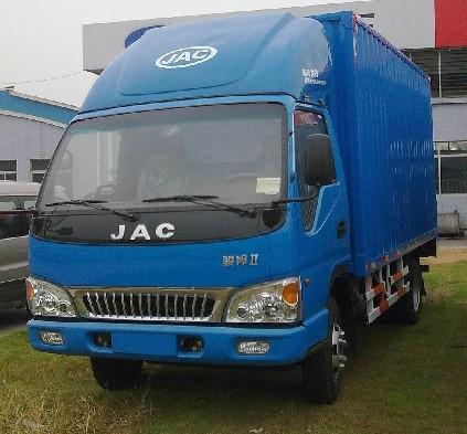 解放赛龙6.8米厢式货车 - 4.5万