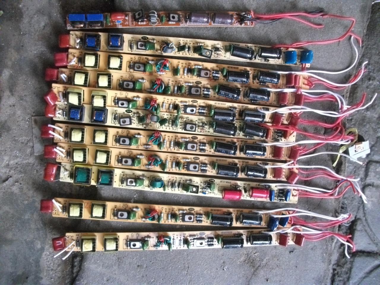 优质30W至36W日光灯节能灯电子整流器线路板工作