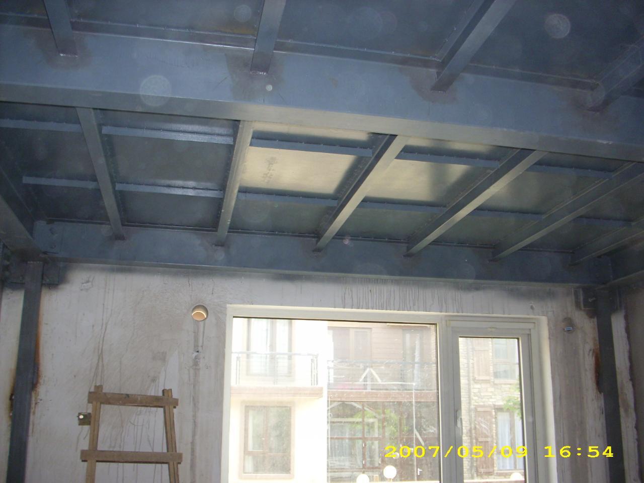 北京专业做阁楼跃层室内钢结构楼板隔层夹层搭建加固