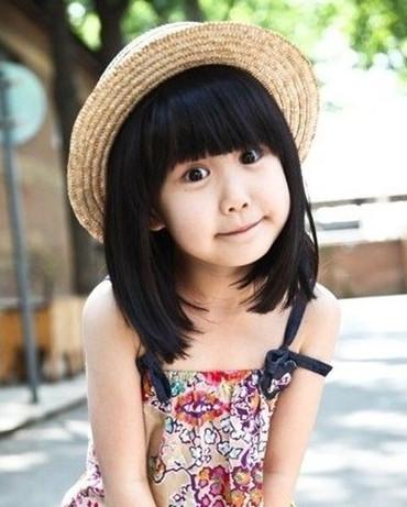 韩式儿童烫发图片