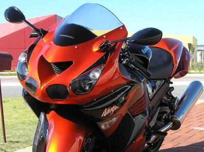 川崎KawasakiZZR1400进口摩托车跑车