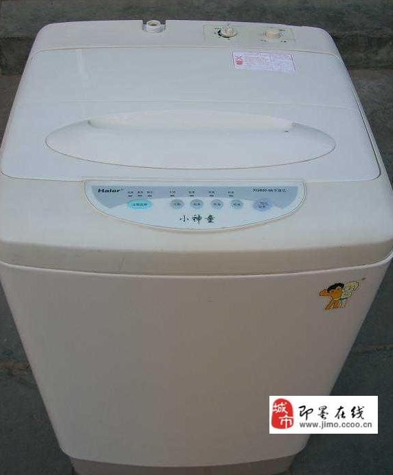 自用海尔小神童全自动洗衣机低价转让