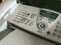 """转让9.5成新""""兄弟FAX-2820""""一体机一台"""