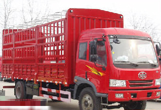 出售一汽解放,6.8米仓栏式货车