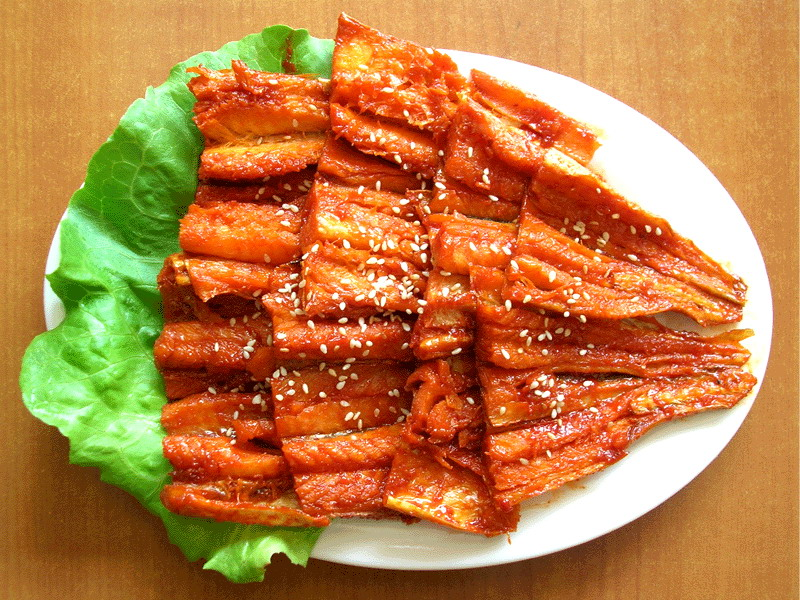 在吉林延边以及韩国很多人都食用,国人对于明太鱼,实是有些陌生,近年图片