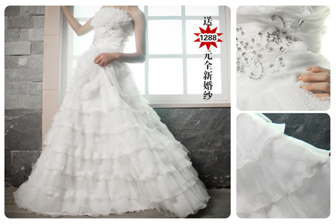 港城婚纱网络部2799巨惠唱响,预订送全新婚纱一件
