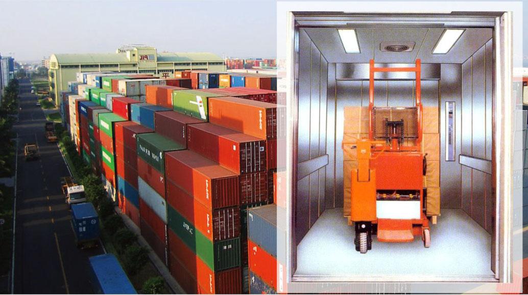曳引系统采用富士电梯专用客货电梯曳引机