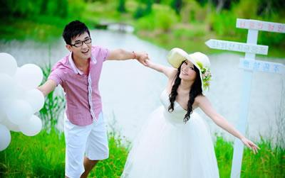 爱之恋婚纱摄影-婚纱外景
