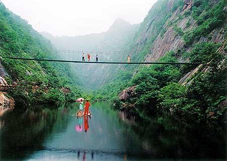 西峡五道幢,天然氧吧,感受自然魅力,西峡旅游首选!