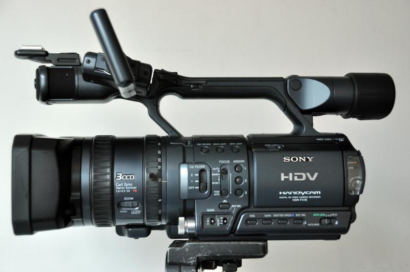 索尼FX1E高清摄像机
