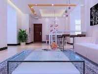 天印花园白色系客厅案例