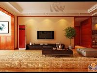 名士豪庭-三居室-141�O-装修案例