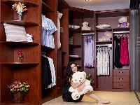 艾依格整体衣柜恒成门业