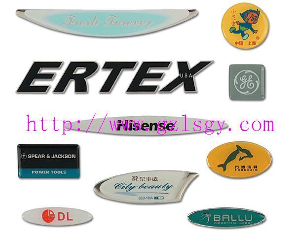 专门为客户定做各种标牌软塑立体标牌、铭牌、铜标牌、