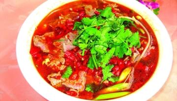 四川美食 水煮牛肉