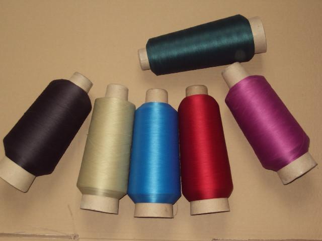 化纤加捻.纱线加捻,合股,分纱,染色,来料加工合作