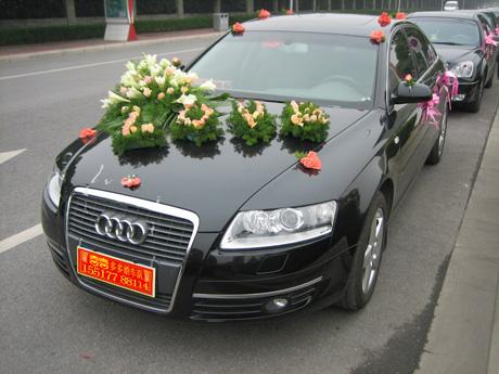 结婚用车 就认准喜多多专业婚车队