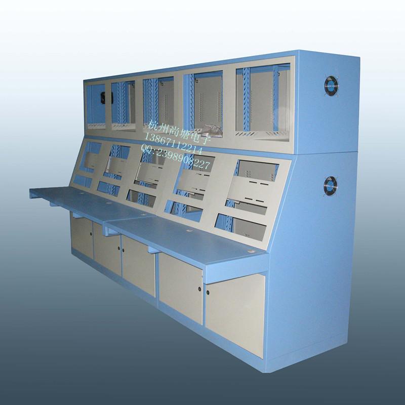 溫州雙層監控操作臺 兩層視頻監控操作臺 安防控制臺