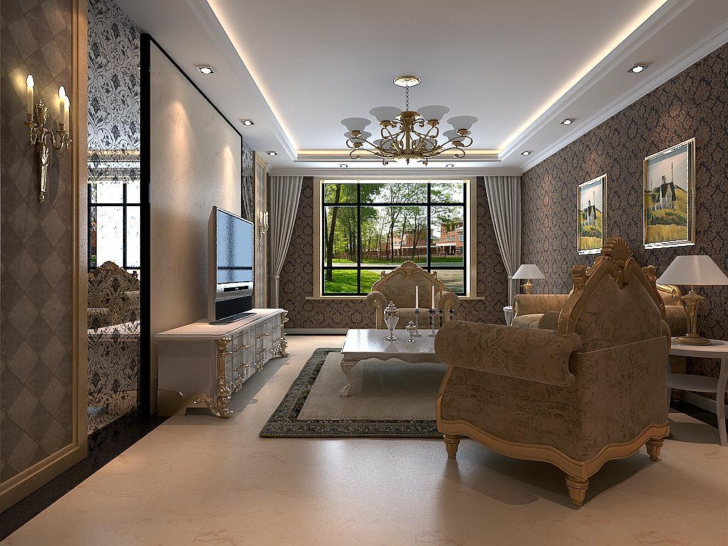 家居设计案例一案例说明:风格:欧式 居室:别墅住宅 局部:整...