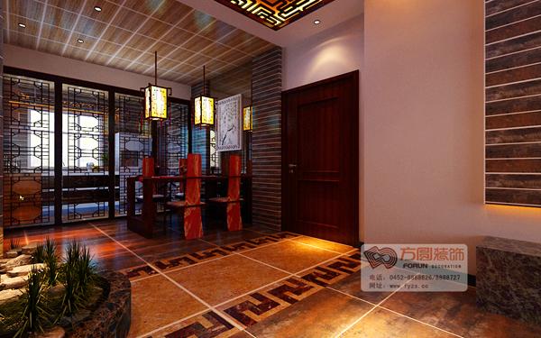 中式风格餐厅装修效果