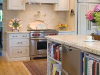 原木色厨房橱柜装修效果图大全2012图片