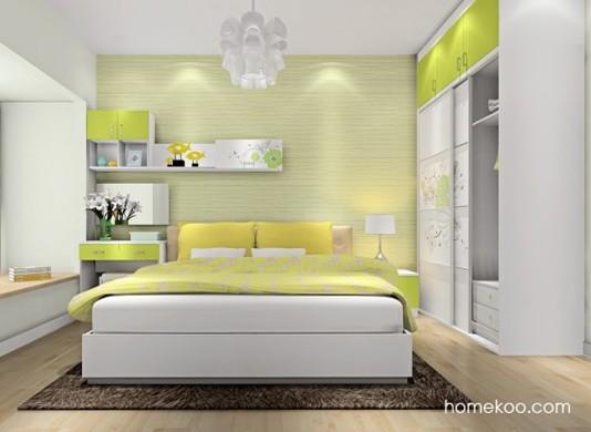 里昂春天卧房家具A16369
